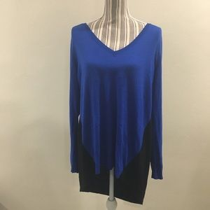 Mossimo Blue and Black Sweater